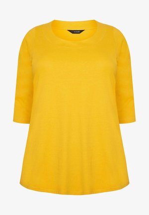 3/4 SLEEVE - Long sleeved top - yellow