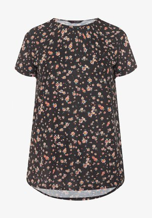 DAISY  - Print T-shirt - black
