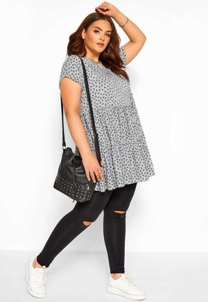 DITSY FLORAL  - Tunic - grey