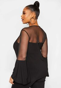 Yours Clothing - LIMITED COLLECTION  - Blouse - black - 2