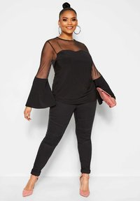 Yours Clothing - LIMITED COLLECTION  - Blouse - black - 1