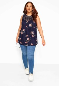 Yours Clothing - Blouse - blue - 1