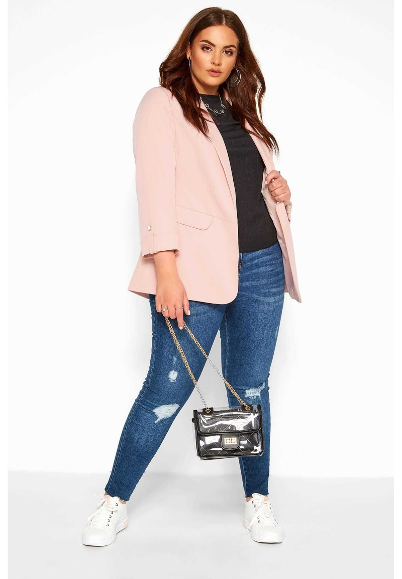 Yours Clothing - Blazer - pink