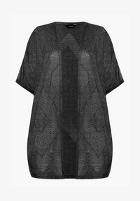 Yours Clothing - COCOON - Cardigan - black - 3