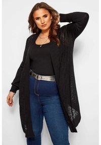 Yours Clothing - Cardigan - black - 0