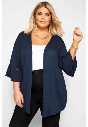 COVER UP - Cardigan - blue
