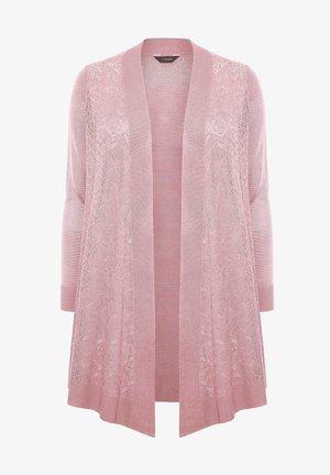 WATERFALL - Cardigan - pink