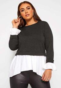 Yours Clothing - Sweatshirt - black - 0