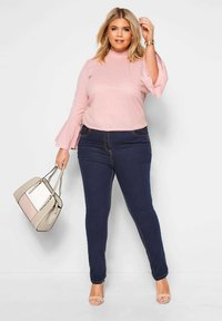 Yours Clothing - RUBY - Straight leg jeans - blue - 1