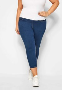 Yours Clothing - Jeggings - blue - 0