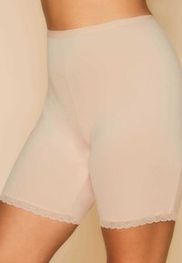Yours Clothing - ANTI CHAFING  - Pants - beige - 0