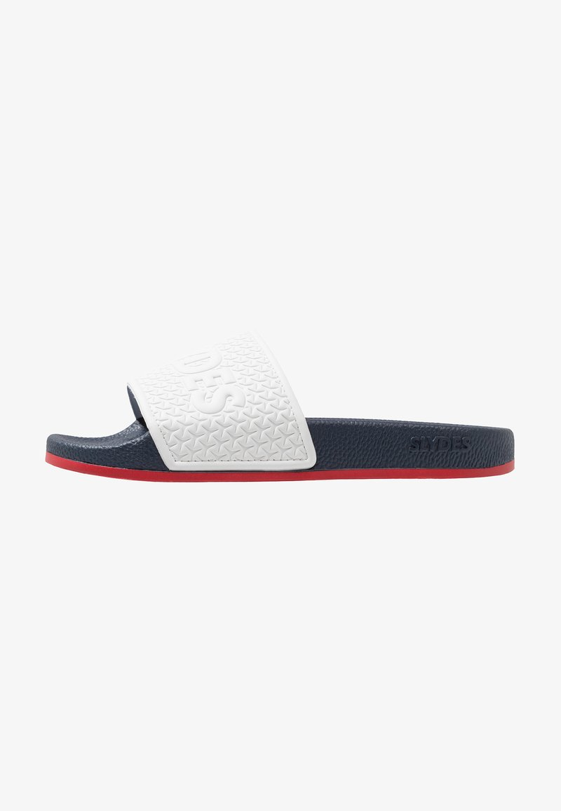 Slydes - STORM - Sandaler - navy/red/white