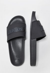 Slydes - Sandali da bagno - black - 1