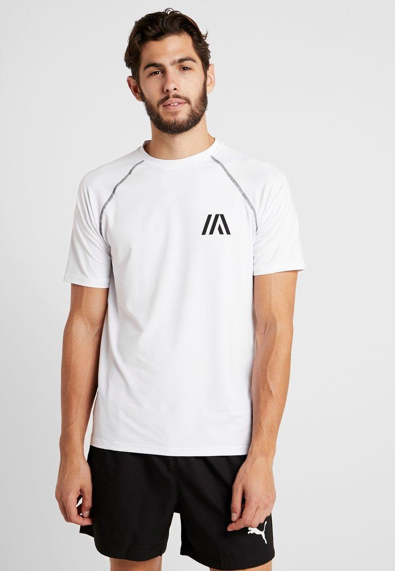 Your Turn Active - Camiseta estampada - white