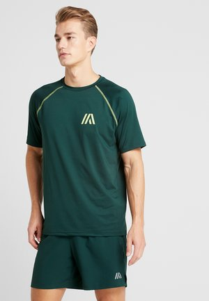 T-shirt con stampa - dark green