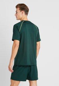 Your Turn Active - Print T-shirt - dark green - 2