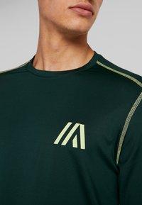Your Turn Active - Camiseta de manga larga - dark green - 4
