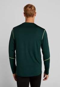 Your Turn Active - Long sleeved top - dark green - 2