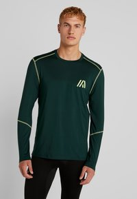 Your Turn Active - Camiseta de manga larga - dark green - 0