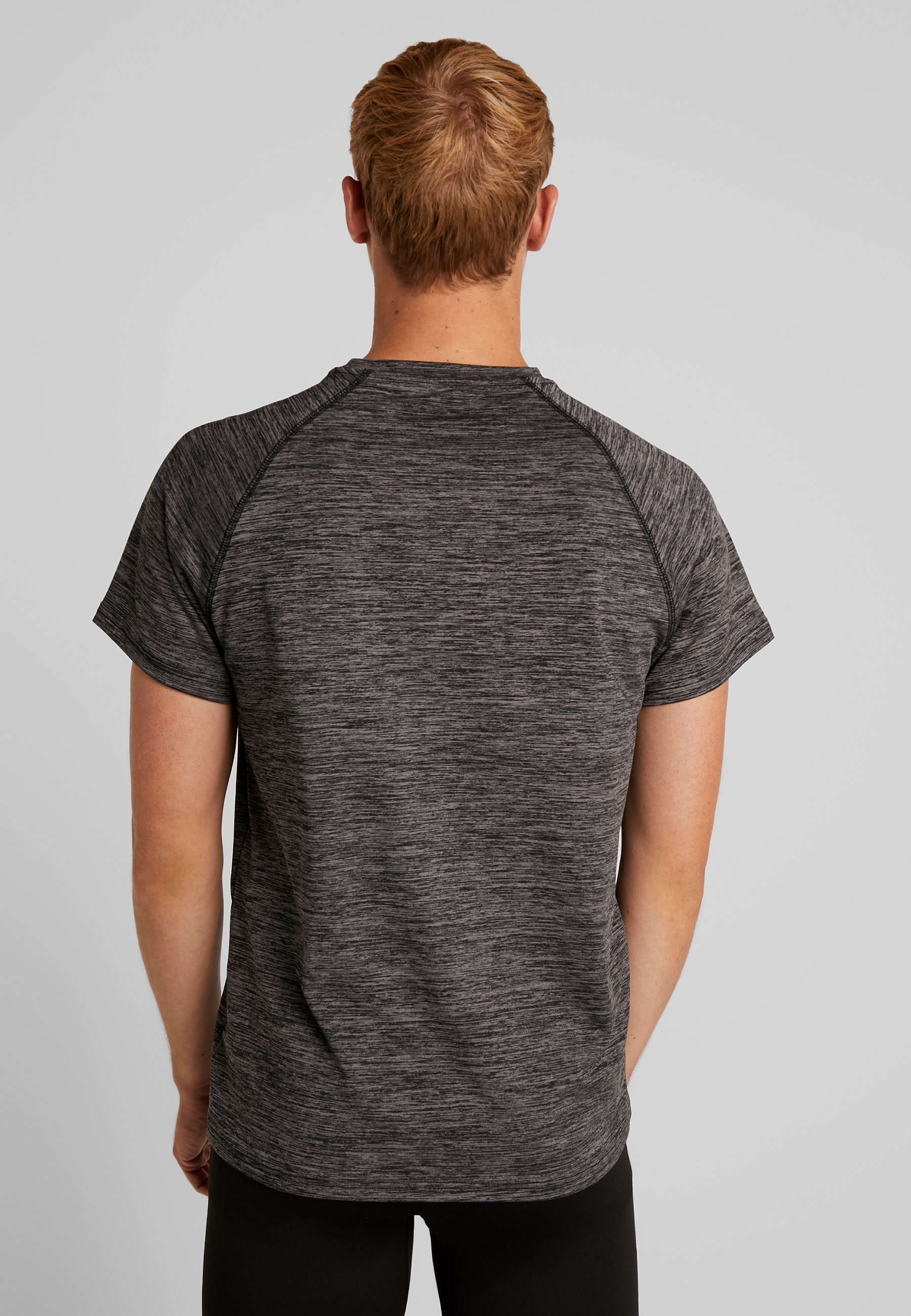 shirt Active Dark ImpriméMottled Turn T Grey Your 80PkXOnw