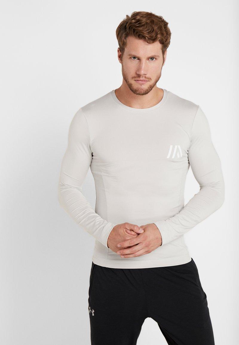 Your Turn Active - Maglietta a manica lunga - light grey