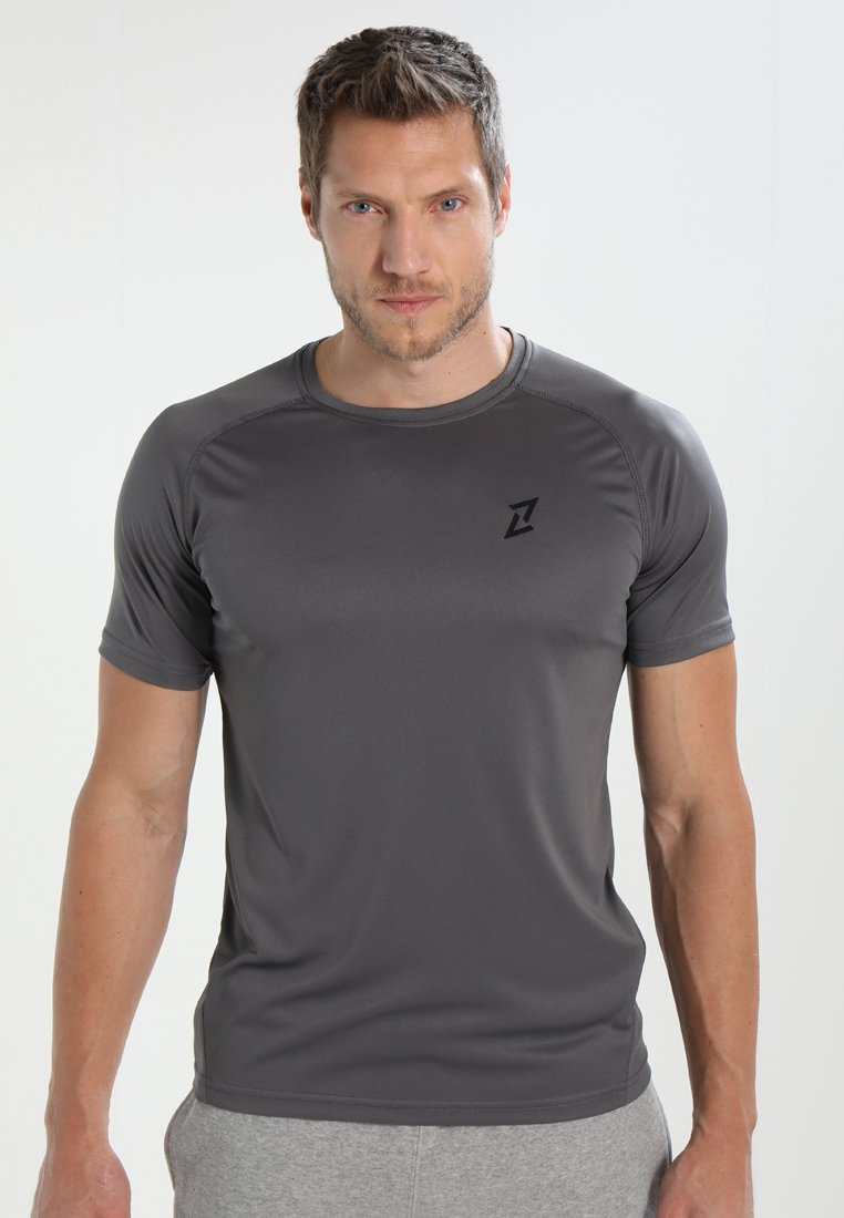 Your Turn Active - Print T-shirt - mid grey