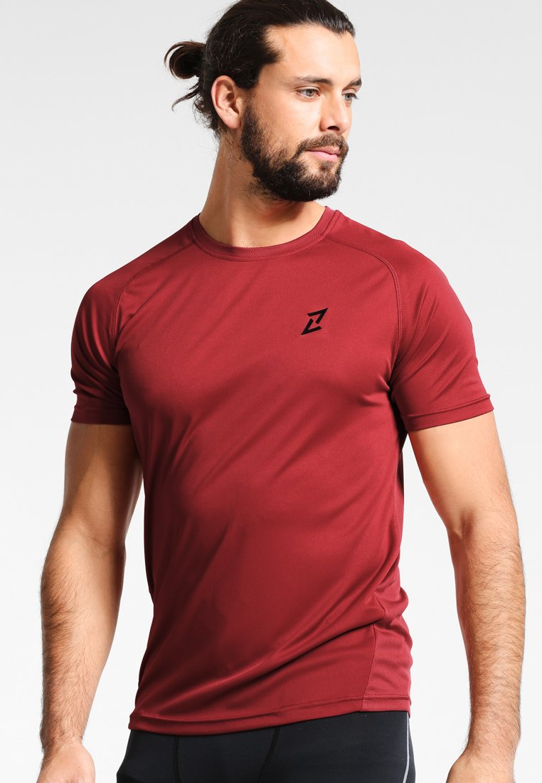 Your Turn Active - Print T-shirt - brick red