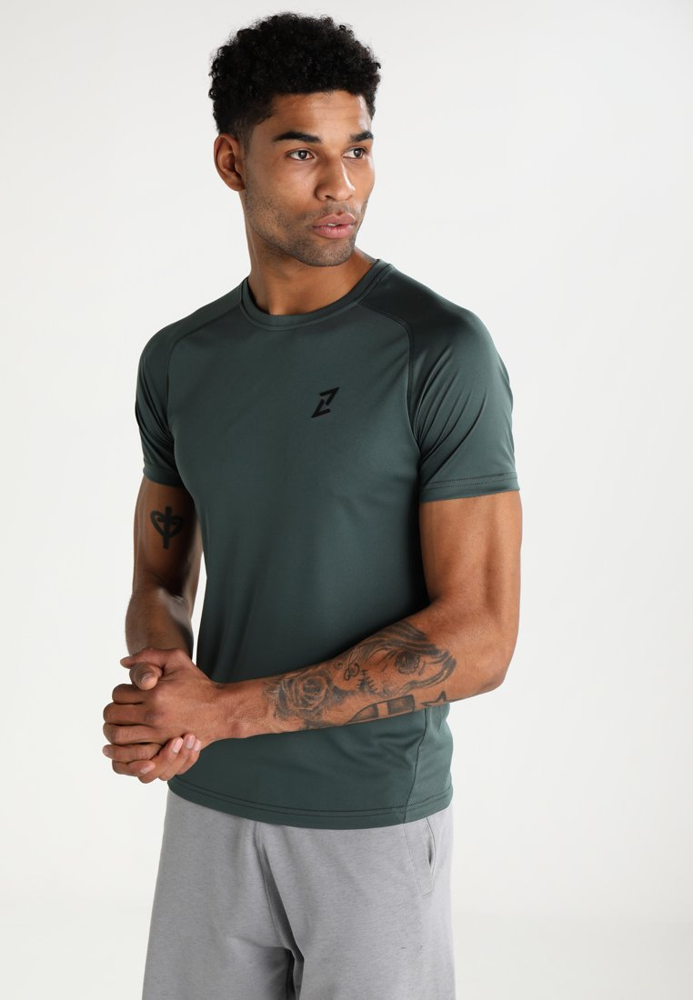 Your Turn Active - Print T-shirt - jungle green