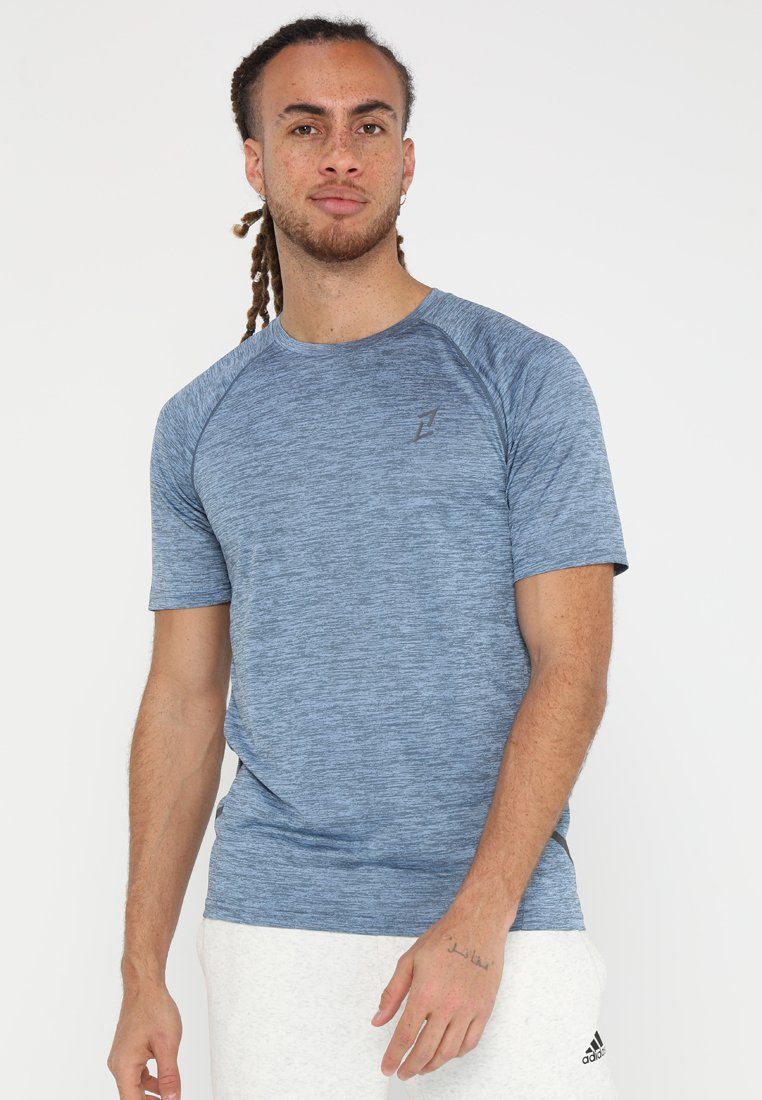 Your Turn Active - Print T-shirt - light blue
