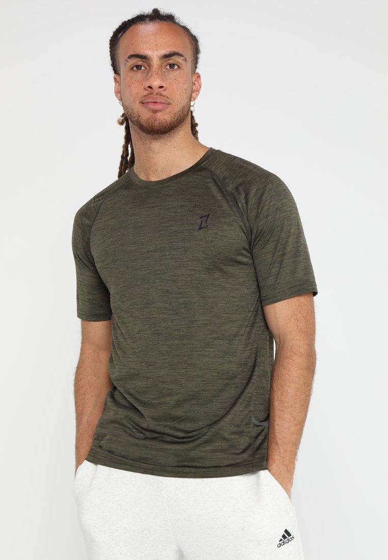 Your Turn Active - Print T-shirt - khaki