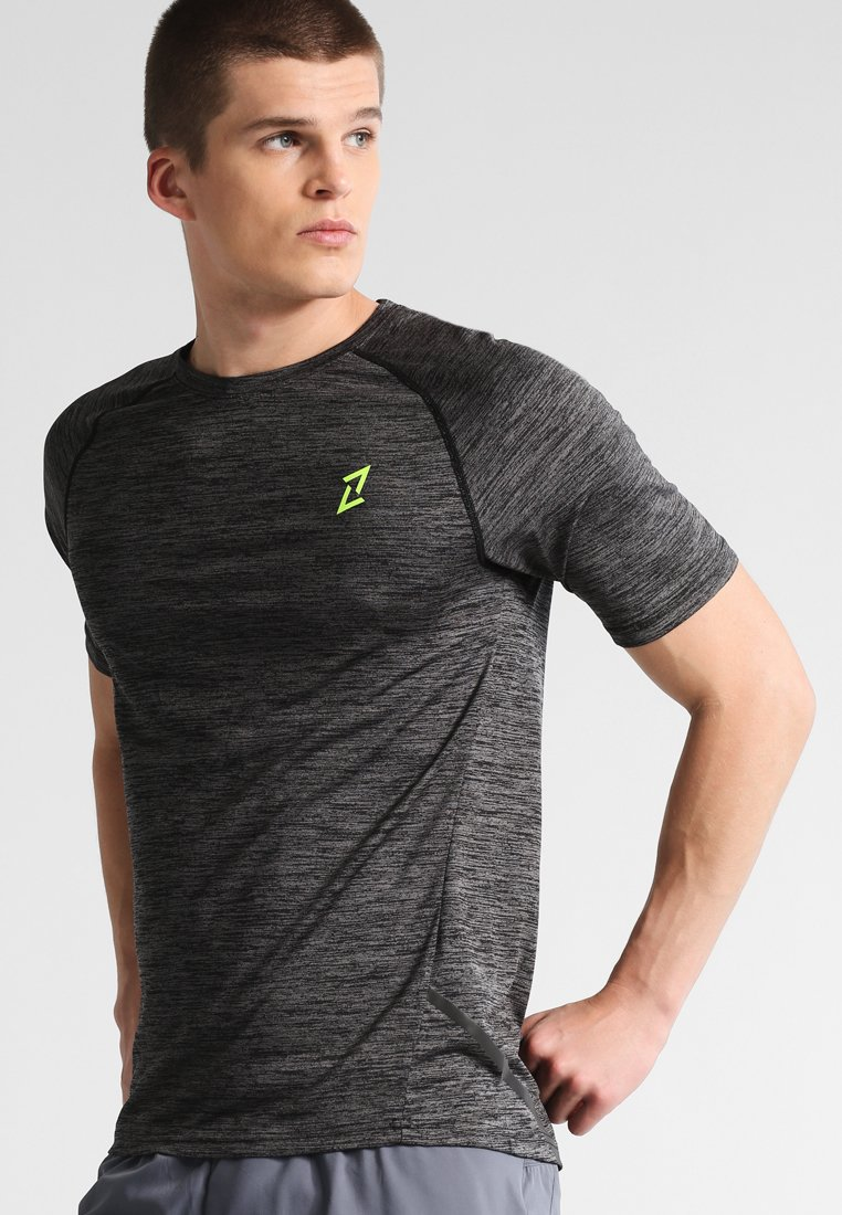 Your Turn Active - T-shirt con stampa - jet black