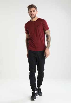 2 PACK - Camiseta básica - red/black