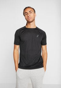 Your Turn Active - 2 PACK - Camiseta básica - black - 0