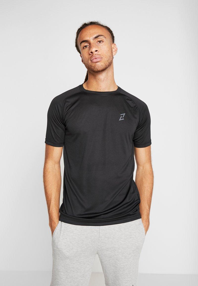 Your Turn Active - 2 PACK - Camiseta básica - black