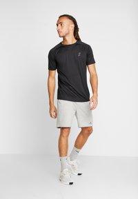 Your Turn Active - 2 PACK - Camiseta básica - black - 1
