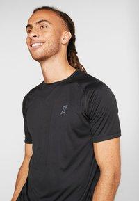 Your Turn Active - 2 PACK - Camiseta básica - black - 3