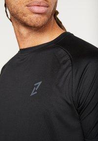 Your Turn Active - 2 PACK - Camiseta básica - black - 5