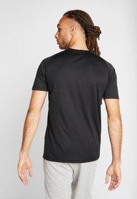 Your Turn Active - 2 PACK - Camiseta básica - black - 2
