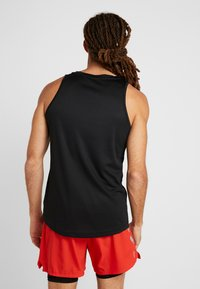 Your Turn Active - 2 PACK - Camiseta de deporte - black/mid grey melange - 2