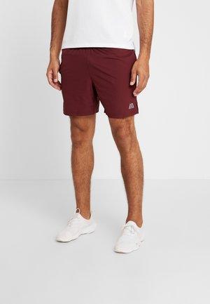 Pantalón corto de deporte - bordeaux