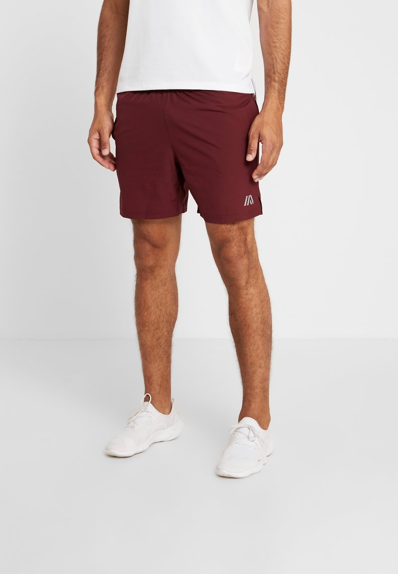 Your Turn Active - Sports shorts - bordeaux