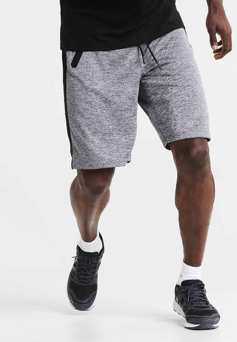 Your Turn Active - Sports shorts - dark grey melange