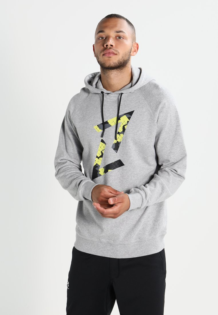 Your Turn Active - Hoodie - mottled light grey