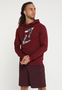 Your Turn Active - Hoodie - bordeaux - 0