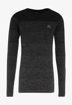 T-shirt sportiva - mottled grey