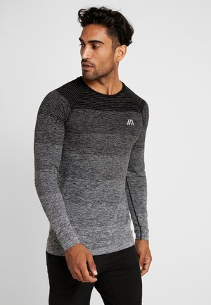 T-shirt sportiva - mottled grey
