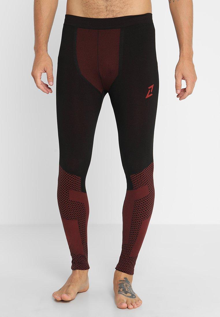Your Turn Active - 2 PACK - Dlouhé spodní prádlo - black/red