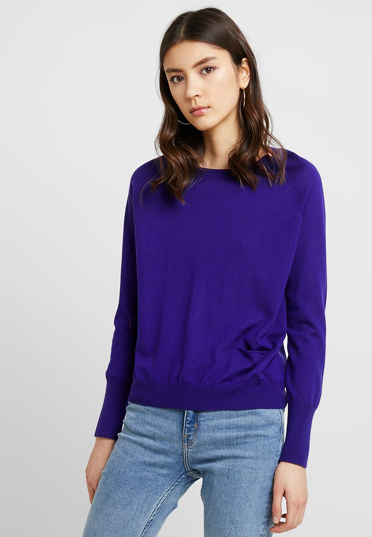 YUMA - Strickpullover - purple