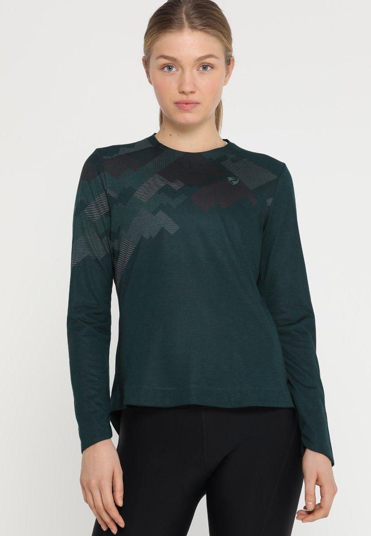 Ziener - ELGA LADY LONGSLEEVE - Long sleeved top - spruce green