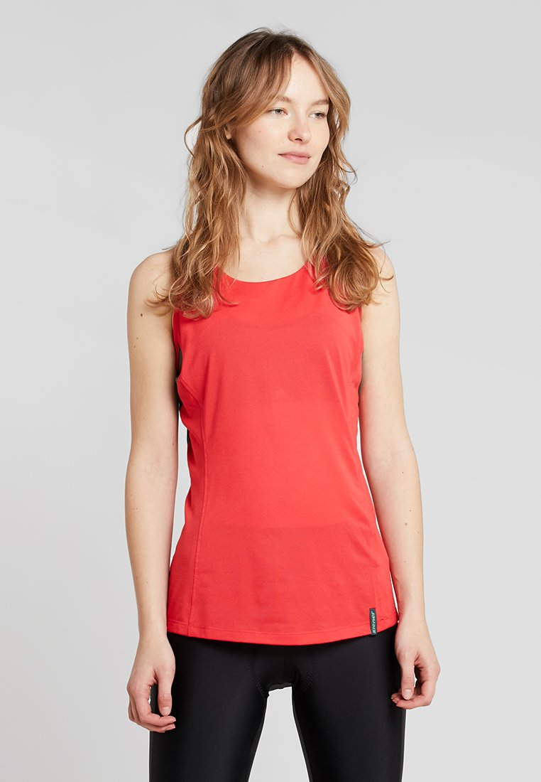 Ziener - NAVA LADY SLEEVELESS - Top - fiery red